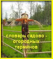 Словарь огородников и садоводов