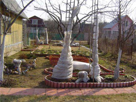 Осенние работы в саду и огороде.