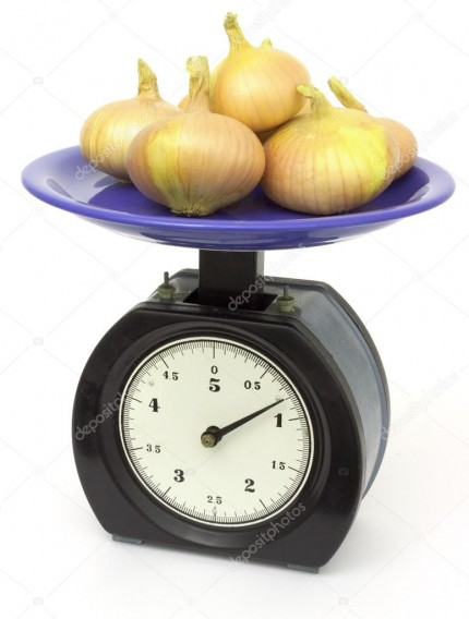 1 килограмм горьких овощей.