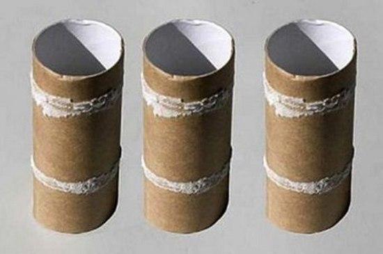 Цилиндры из бумаги