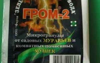 Гром-2 средство для борьбы с вредителями.
