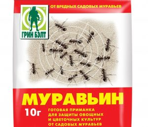 Средство для борьбы с муравьями.