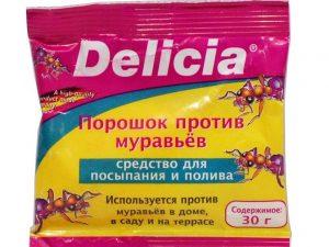 Делиция(Delicia) - порошок против вредителей.