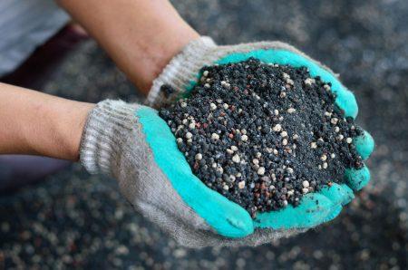 Подготовка почвы к посадке.