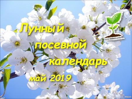 Лунный календарь садоводов и огородников на май 2019 года