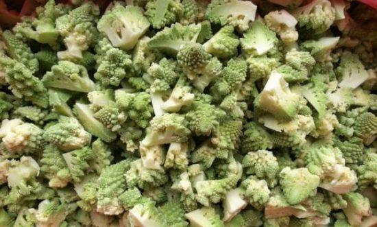 Заморозка брокколи