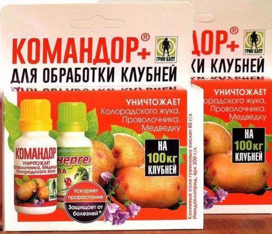 Командор - препарат для борьбы с колорадскими жуками